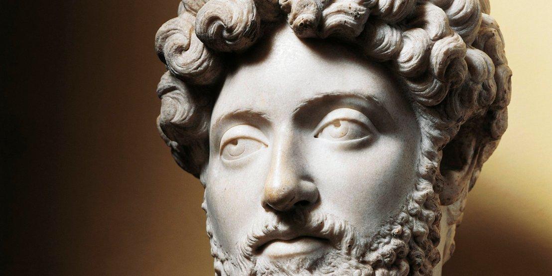 Bust of Emperor Marcus Aurelius